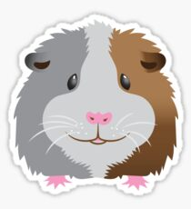 Guinea pig face Sticker