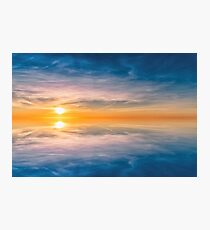 The most beautiful sunset Photographic Print