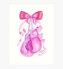 Cute & Strong Art Print