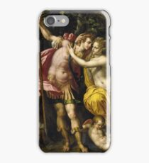 Hendrick De Clerck - Venus And Adonis iPhone Case/Skin