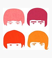 fab four Photographic Print