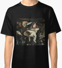 Heironymus Bosch - The Garden Of Earthly Delights Classic T-Shirt