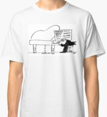 Handel's Water Music. Piano Springs a Leak Classic T-Shirt