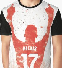 Alexis Sanchez - Arsenal Graphic T-Shirt