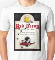 Red Baron Beer Garden T-Shirt