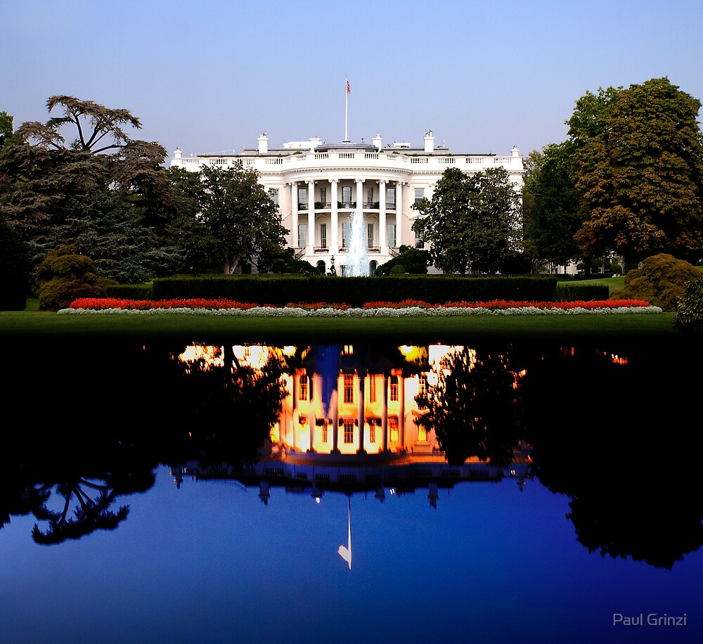 White House night and day by Paul Grinzi