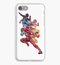 Power Rangers 2017 Movie iPhone Case/Skin