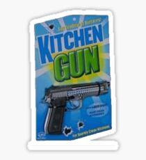 Kitchen Gun Sticker