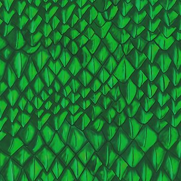 Game of Thrones - Green Dragon Scales by emmafifield