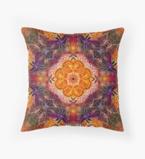 Orange Peel  Throw Pillow