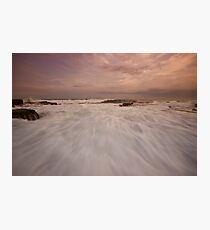Bar Beach Rock Platform 10 Photographic Print
