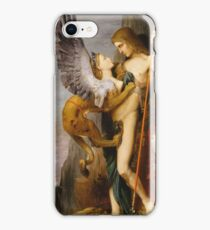 Gustave Moreau - Oedipus And The Sphinx iPhone Case/Skin