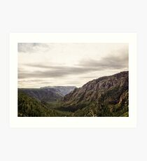 flagstaff mountains. Art Print