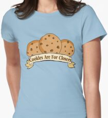 Cookies are for Closers! Womens Fitted T-Shirt