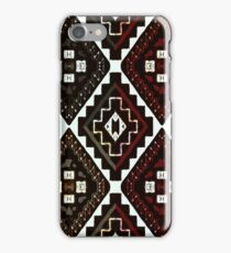 Textural Earth Tones Patched iPhone Case/Skin