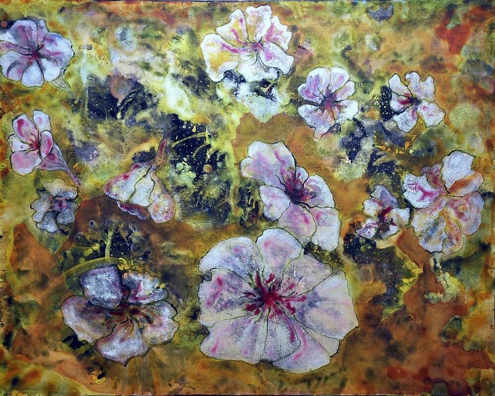 Cosmic Flowers * by James Lewis Hamilton