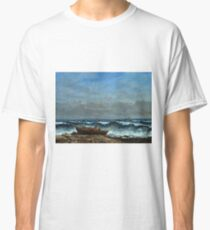 Gustave Courbet - The Stormy Sea Or, The Wave Classic T-Shirt