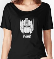 Optimus Prime - White color version Women's Relaxed Fit T-Shirt