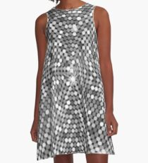 Cristal shiny disco ball  A-Line Dress