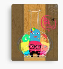 Pick this little monster up Canvas Print