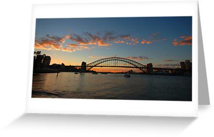 Wisps Of Day- Sydney Harbour, Sydney Australia by Philip Johnson