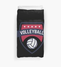 Volleyball Volley Ball Champion Duvet Cover