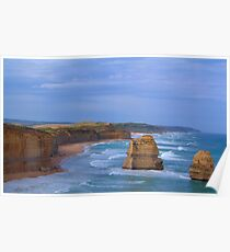 Separated By Time- The Great Ocean Road, Victoria Australia Poster