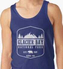 GLACIER BAY NATIONAL PARK ALASKA  Tank Top