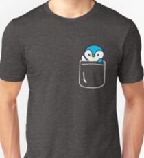Penguin In Your Pocket Funny Emoji Gift Unisex T-Shirt