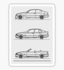 E36 M3 Sticker