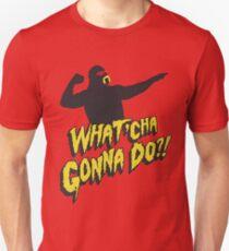Hulk Hogan - What'cha Gonna Do Unisex T-Shirt