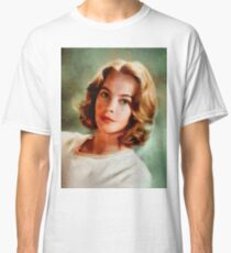 Leslie Caron, Vintage Actress Classic T-Shirt
