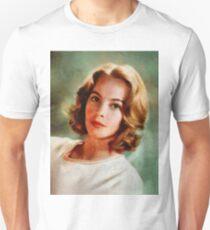 Leslie Caron, Vintage Actress Unisex T-Shirt