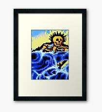 Ouch Framed Print