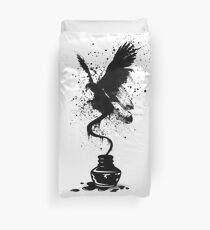 Ink Eagle Duvet Cover