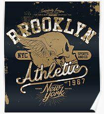 Brooklyn Athletisch 1967 Poster