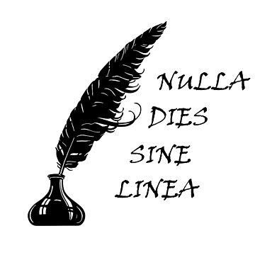 Nulla dies sine linea by centoo10