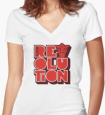 Carl Cox Merchandise Women's Fitted V-Neck T-Shirt