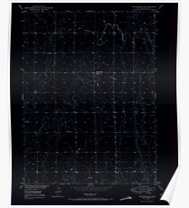 USGS TOPO Map Colorado CO Sunnydale 234659 1949 24000 Inverted Poster