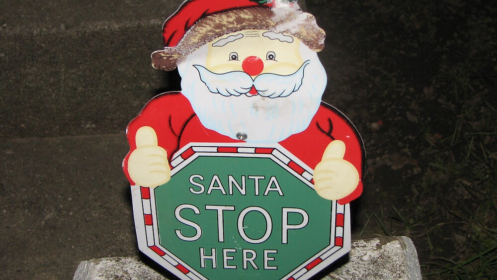 Stop here Santa by ANibbe