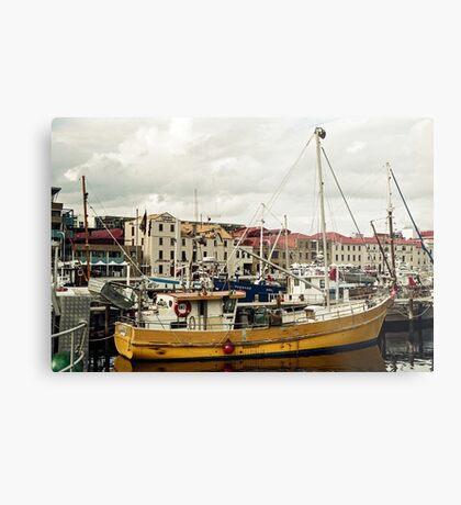 Autumn, Victoria Dock, Hobart Metal Print