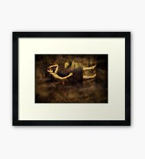 Ancient Forces Framed Print