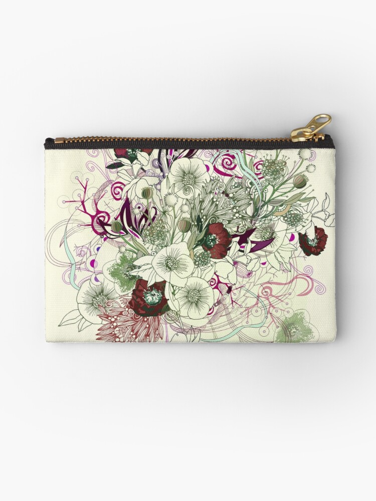 Zentangle Floral mix II by camcreativedk