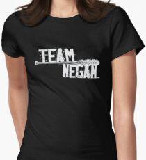 Team Negan - The Spike Bat Walking Zombie Dead  Womens Fitted T-Shirt