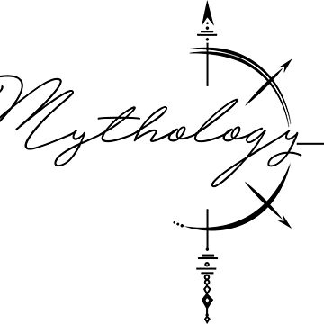 Mythology (in black) by chalk13
