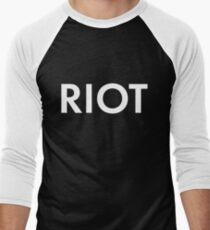 RIOT white T-Shirt
