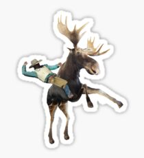 Canadian Rider Sticker