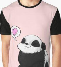 Panda Love Graphic T-Shirt