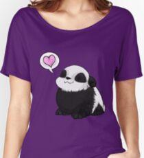 Panda Love Women's Relaxed Fit T-Shirt