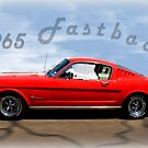 1965 Ford Mustang Fastback by Betty Northcutt